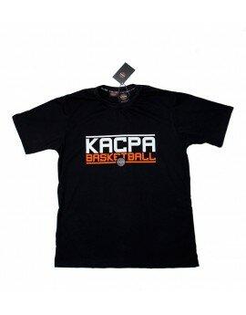 Czarny t-shirt KACPA BASKETBALL
